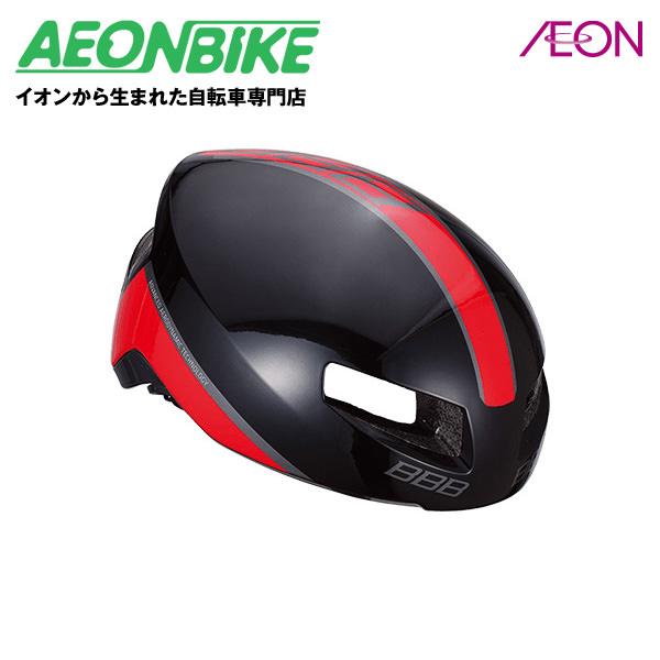 (BBB) ティトノス BHE-08 グロッシーブラック/レッド Mサイズ【ヘルメット】【自転車】【店舗受取対象外】