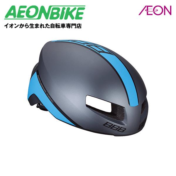 (BBB) ティトノス BHE-08 マットグレー/ブルー Lサイズ【ヘルメット】【自転車】【店舗受取対象外】