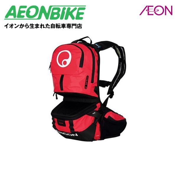 エルゴン (ERGON) BE3 エンデューロ スモール BLK/RED ブラック/レッド 10L BAG35702【店舗受取対象外】