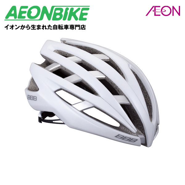 (BBB) イカロス マットホワイト/シルバー Lサイズ 154769【ヘルメット】【自転車】【店舗受取対象外】