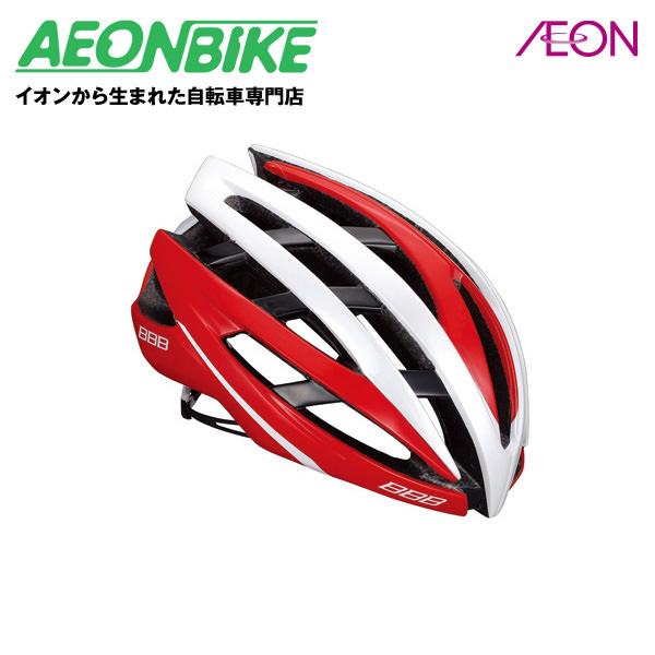 (BBB) イカロス レッド/ホワイト Lサイズ 154852【ヘルメット】【自転車】【店舗受取対象外】
