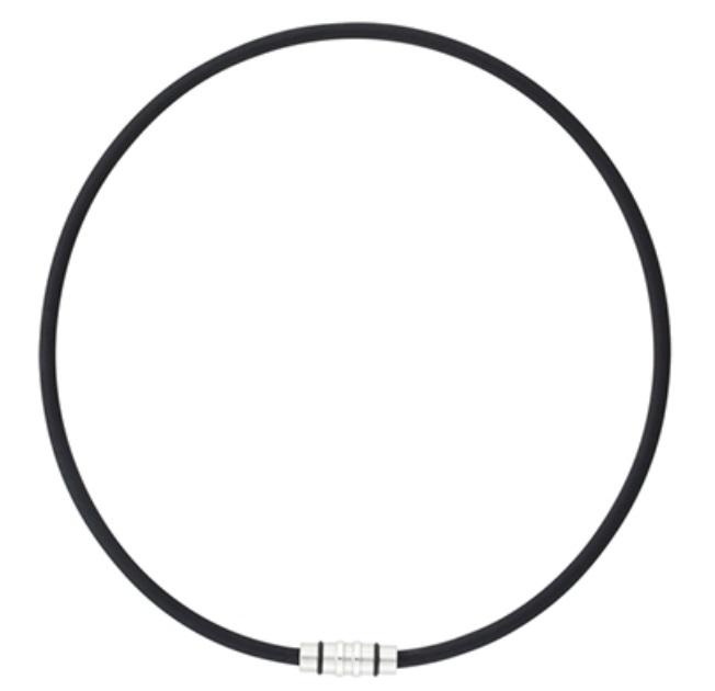 コラントッテ ネックレス クレスト ブラック Sサイズ(43cm)