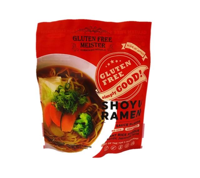 !超美品再入荷品質至上! 値下げ グルテンフリーのラーメン登場 レビュー記載で200円クーポンプレゼント中 小林生麺 スープ付き グルテンフリーインスタントしょうゆラーメン 16個セット