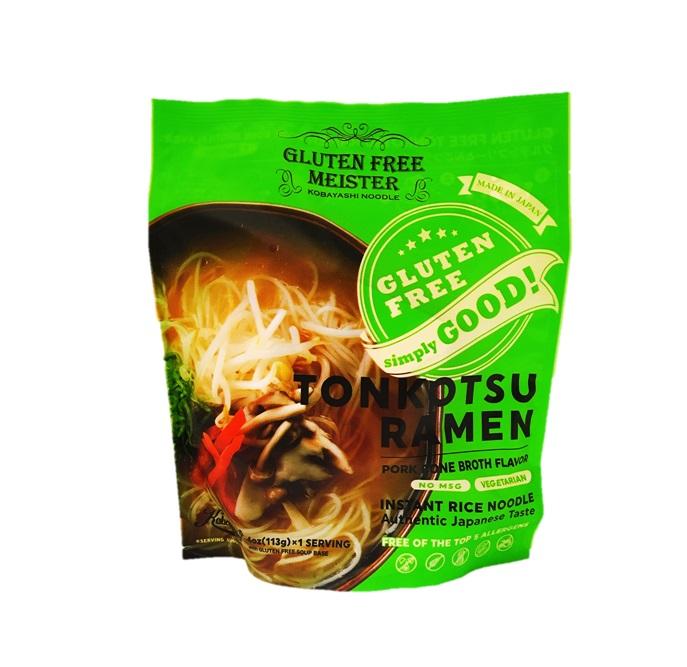 グルテンフリーのラーメン登場 レビュー記載で200円クーポンプレゼント中 ディスカウント 小林生麺 爆安プライス 16個セット グルテンフリーインスタントとんこつ風ラーメン