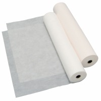 ベッドシーツ 厚・ホワイト W80cm×L100m  4本入