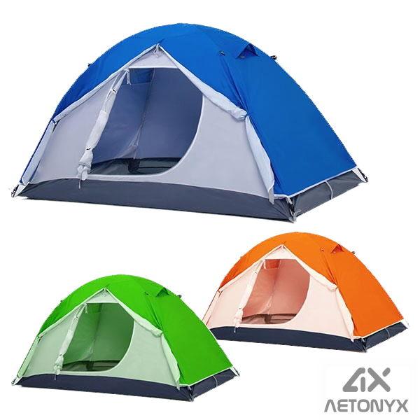 AETONYX 撥水テント 4921114 完成サイズ:幅2090mm×奥行1290mm×高さ1000mm 2人用テント キャンプ 登山 アウトドア 旅行 キャンプ BBQ 防災 非常時 にもAETONYX ax アエトニクス 恐竜