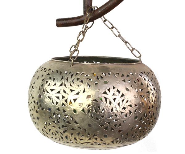 白真鍮ボールランプ Mサイズ Φ20 DARARI