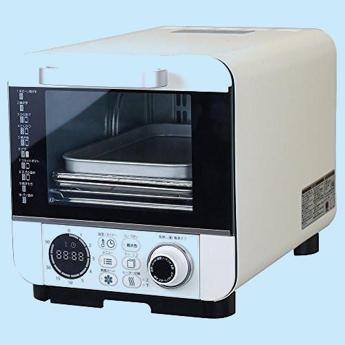 ドウシシャ オーブントースター 焼き芋調理 40%OFFの激安セール 油不使用で揚げ物 温度調節機能付 10種類マイコン式 超特価SALE開催 コンパクトタイプ COR-100B ピエリア