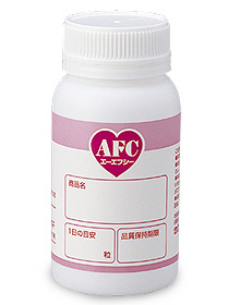 Bottle AFC (AFC) for the refilling