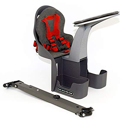 自転車 チャイルドシート 前用 フロント 1歳 子供乗せ 前 使いやすい 口コミ 人気 自転車用 ウィライド カンガルーキャリア デラックス 98077 WeeRide model Kangaroo 98077 自転車チャイルドシート 送料無料