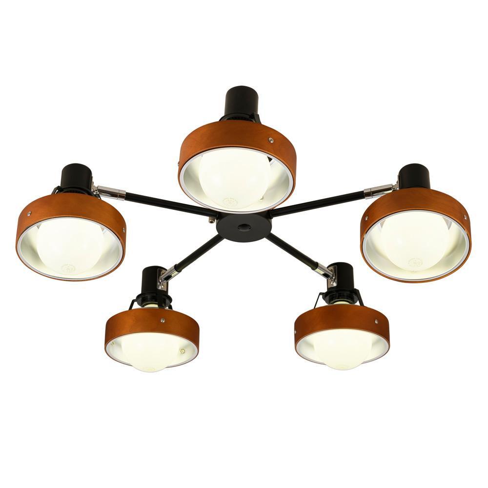 シーリングライト Ladius ラディウス NL-5056白熱球 (天井照明 リビングライト おしゃれ シンプル)