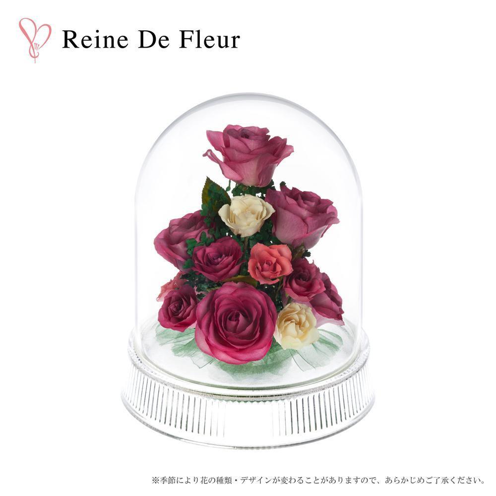 ドライフラワーギフト【Reine De Fleur レンデフロール バラ 日本製 I-A】ドライフラワーギフトドライフラワーギフト