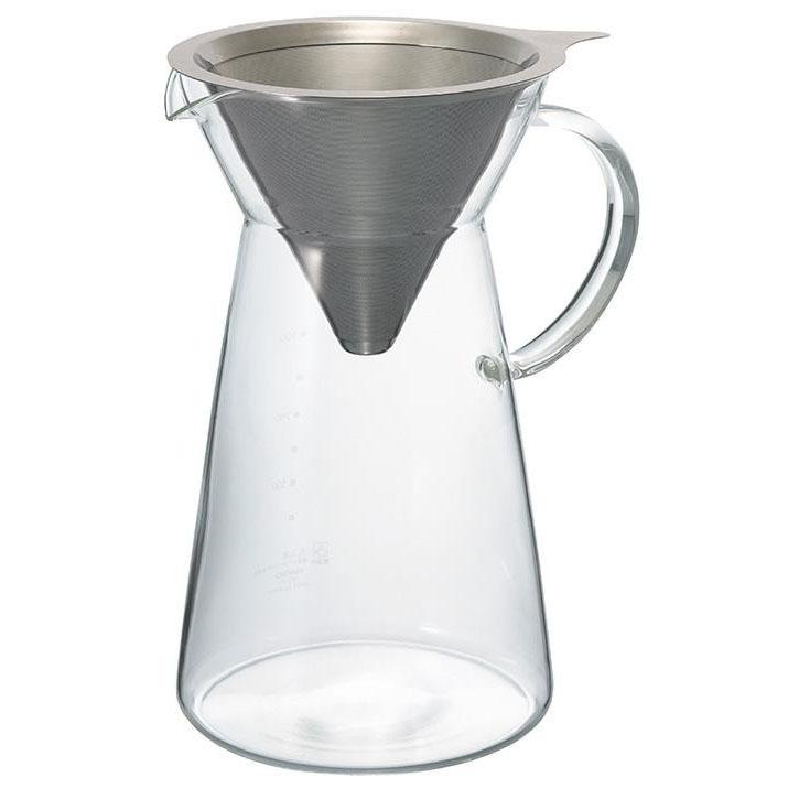 [HARIO Hario metal drip coffee decanter MDD-02SV] [RCP] [HLS_DU]