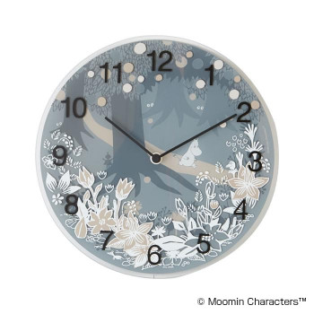 MOOMIN(ムーミン) Wall clock Moomin in the Forest MTP030008 壁掛け時計