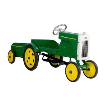 Baghera バゲーラ Tractor With Trailer トラクター 1937 公式 お子様への贈り物に キッズ ギフト好適品 ドライブ 乗り物のおもちゃ 運転 たのしい かわいい おしゃれ 子供 送料無料でお届けします 本格的