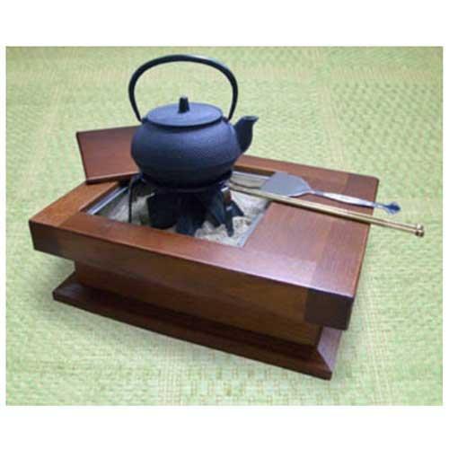 和の逸品 至福の囲炉裏(鉄瓶込み6点セット) おしゃれ 囲炉裏セット
