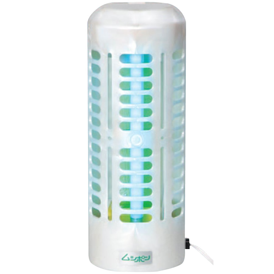捕虫器 ムシポン 工事不要据置き型(壁付け兼用) 紫外線誘虫・粘着捕獲式 MP-600 防虫対策