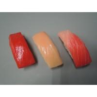 <title>お買い得 日本職人が作る 食品サンプル寿司マグネット まぐろ三昧 IP-149 リアルなお寿司のマグネット</title>