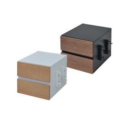 Re・conte Ladder Desk NU (CHEST) 天然木 NUデスク専用チェスト