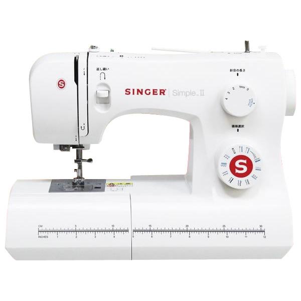 SINGERシンガー 家庭用ポータブル電動ミシン SN621 SimpleII
