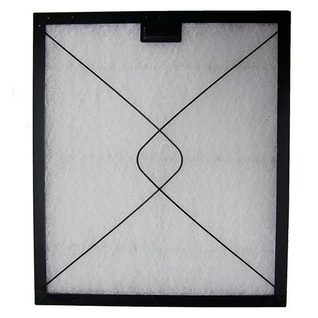 コスモフィルター 深型レンジフード 金網3面 差し込みタイプ用 取り付け枠・フィルターセット 35.0×29.7cm