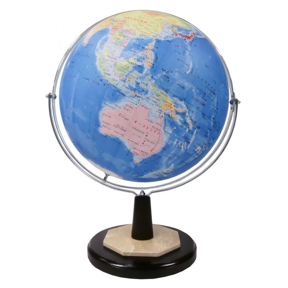 【SHOWAGLOBES 地球儀 行政図タイプ 43cm 43-GRW】