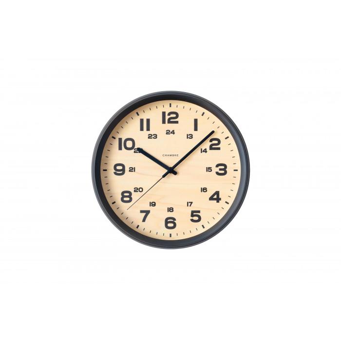 壁掛け時計 シンプル おしゃれ BRAM CLOCK 電波時計 CHARCOAL GRAY・CH-050CG