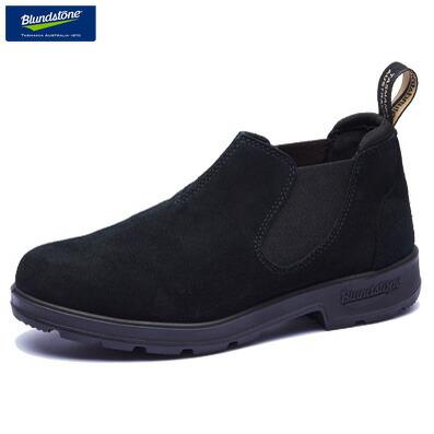 ブランドストーン サイドゴアブーツ ローカット ワークブーツ スリップオン ブラック スエード スウェード BS1605 Blundstone Low Cut Boots