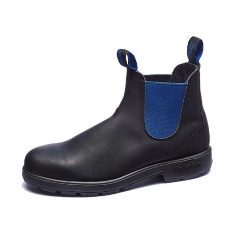 ブランドストーン サイドゴアブーツ ワークブーツ ボルタンブラック/ブルー 送料無料 Blundstone Side Gore Boots CLASSICS 515