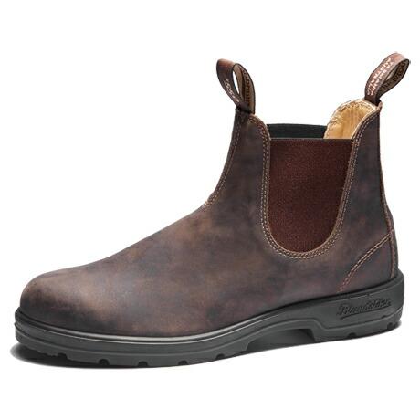 ブランドストーン サイドゴアブーツ ワークブーツ ラスティックブラウン 送料無料 Blundstone CLASSIC COMFORT Side Gore Boots 585