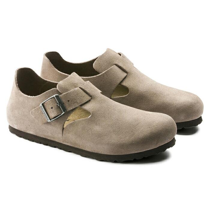 日本正規品  ビルケンシュトック メンズ レディース ブーツ シューズ ロンドン スウェード レザー トープ 天然皮革 ナローフィット(幅狭) BIRKENSTOCK LONDON