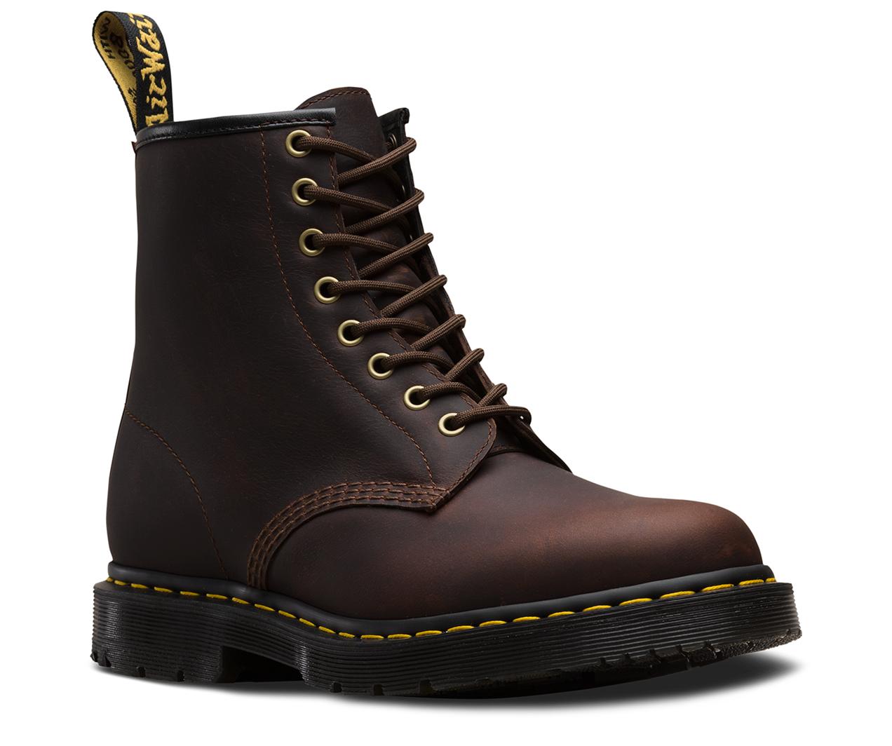 ドクターマーチン 日本正規品WINTER GRIP 1460 8ホール ブーツ ココア 防水 COCOA SNOW PLOW WP