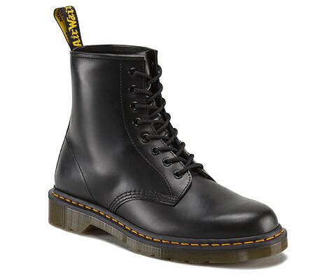 ドクターマーチン 日本正規品 ブラック 黒 8ホール ブーツ 8‐EYE 1460Z DMS 59 8HOLE BOOTS BLACK SMOOTH