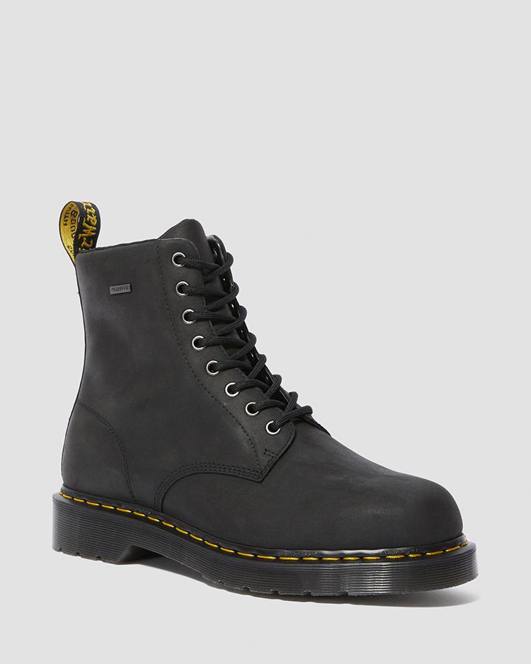 ドクターマーチン 国内正規品 1460 ウォータープルーフ 8 ホール ブーツ Dr.Martens DM'S WATERPROOF 1460 WP BLACK REPUBLIC WP