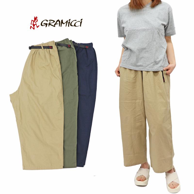 グラミチ ウィメンズ レディース リネン コットン バルーン パンツ Women's Gramicci Linen Cotton Balloon Pants GLP-19S078