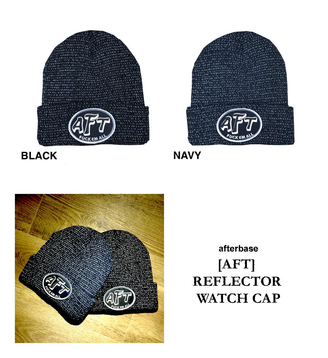 0ac7a143aae aftbs  afterbase  AFT  REFLECTOR WATCH CAP