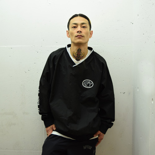 afterbase [Gas] COACH PULLOVER JACKET