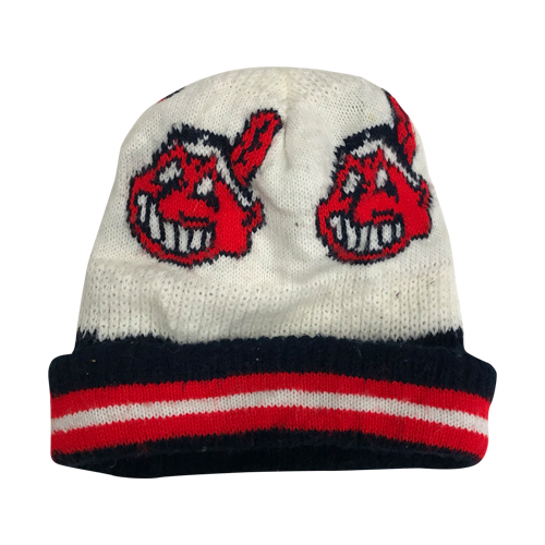 c4d5e7f023d aftbs   overseas direct import USED product  CLEVELAND INDIANS KNIT CAP