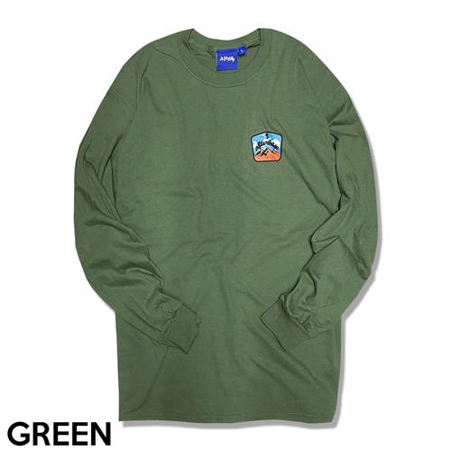 タイムセール SALE-PRICE MOUNTAIN ロングスリーブティーシャツ 在庫一掃売り切りセール L S T-SHIRT