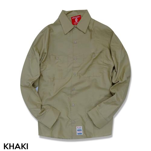 [FRAGILE] L/S ワークシャツ WORK SHIRT