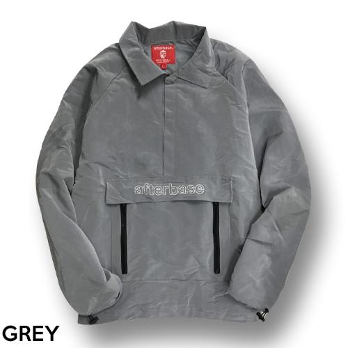 afterbase [SHINY] ナイロンプルオーバー Nylon Pullover Jacket
