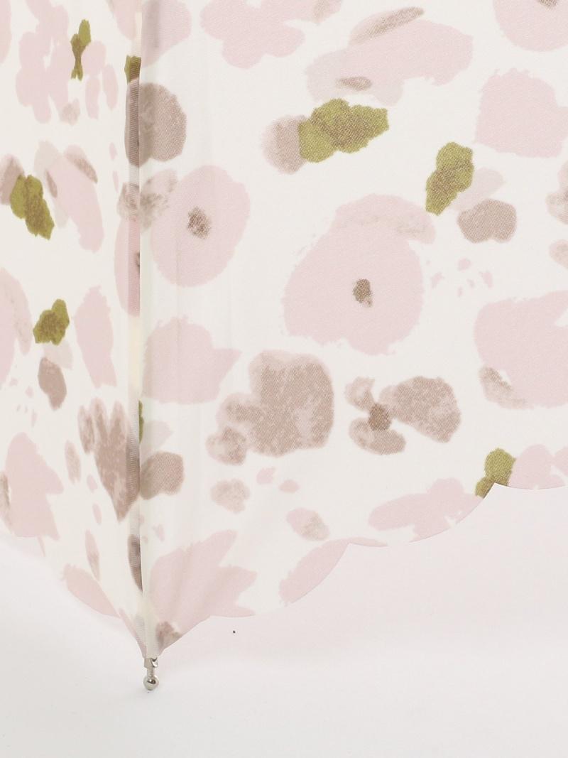楽天市場 Rakuten Fashion フラワー柄晴雨兼用5段折りたたみ傘雨傘 Afternoon Tea アフタヌーンティー リビング ファッショングッズ ファッショングッズその他 ピンク ブルー Afternoon Tea Living