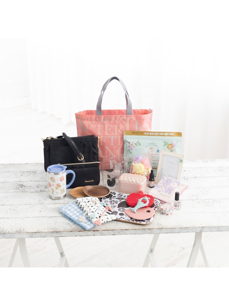 [Rakuten Fashion]【Rakuten限定】HAPPYBAG Afternoon Tea アフタヌーンティー・リビング その他 福袋 レッド【送料無料】