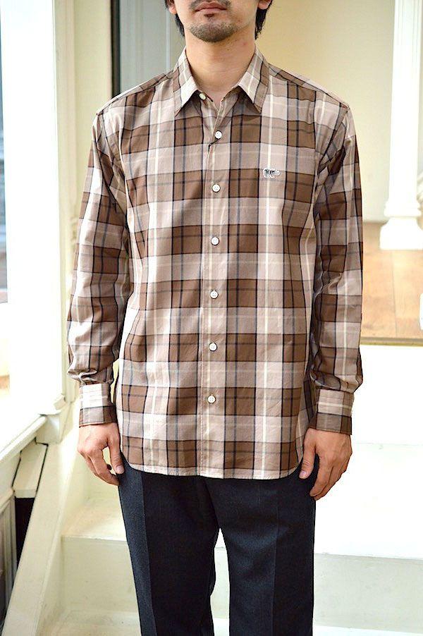 【Scye/Scye BASICS|メンズ】【セール40%off】Cotton Oxford Checked Boxy Regular Collar Shirt/5119-33501*SL#GH*