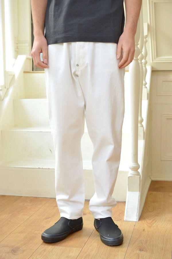 【m's braque(エムズブラック)|エムズブラック】【セール30%off】SIDE LINE 5POCKET TAPERD PANTS/181214*DM#GH*