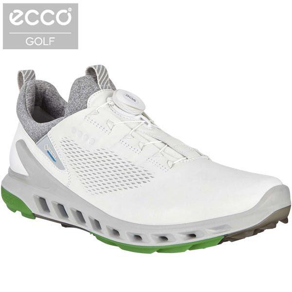 [2020年モデル] ecco エコー メンズ BIOM COOL PRO BOA バイオム クール プロ ボア スパイクレス ゴルフシューズ 102114 01007 WHITE 【あす楽対応】