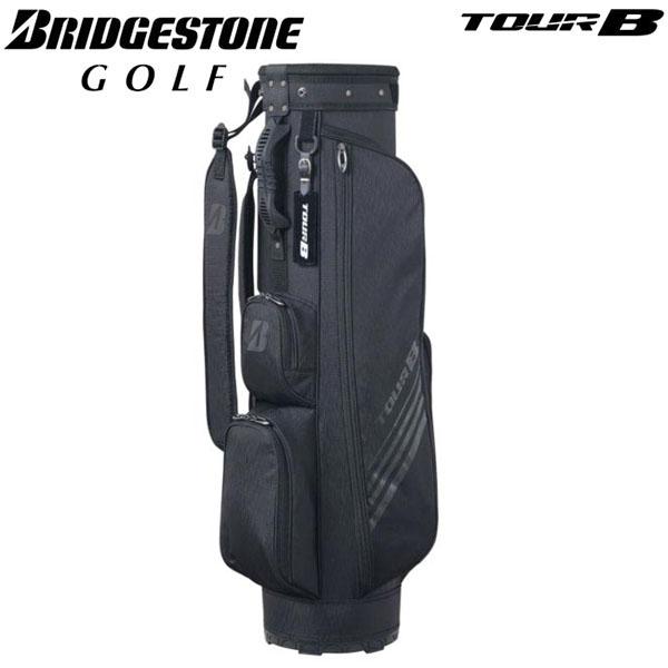 [2020年モデル] ブリヂストン TOUR B ツアーB メンズ スリム キャディバッグ CBG023 BK ブラック