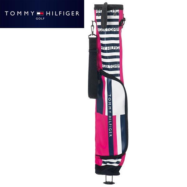 [2020年モデル] トミー ヒルフィガー ゴルフ フード付き セルフスタンド クラブケース THMG0SK1 48 ピンク 【あす楽対応】