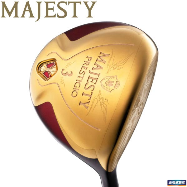 2020年モデル マジェスティゴルフ レディース PRESTIGIO XI MAJESTY フェアウェイウッド プレステジオ11 TL740 日本製 高級な シャフト
