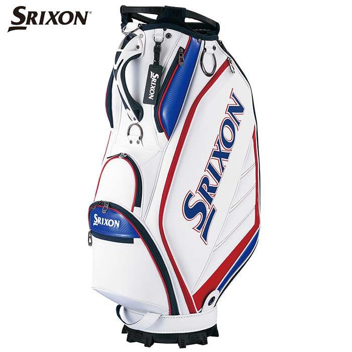 2020年モデル OUTLET SALE ダンロップ SRIXON スリクソン メンズ おしゃれ ホワイトレッド キャディバッグ スポーツレプリカモデル GGC-S164